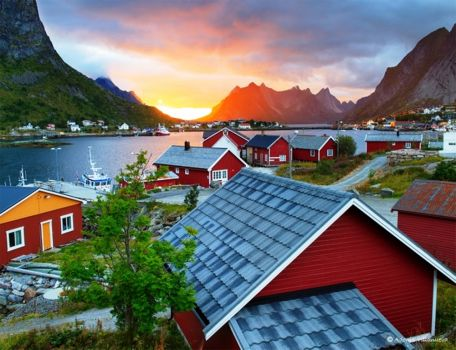 рейне норвегия фото