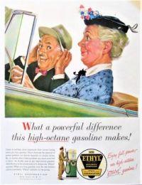 Themes Vintage ads - Ethyl Gasoline
