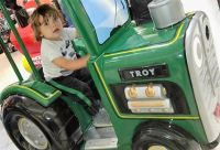 A Boy's Favorite Tractor