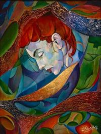 Zinovy Shersher Artwork - Music be the world of Love