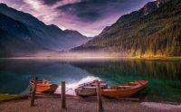 lake Jägersee in Austria