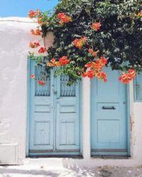Blue Doors, Greece