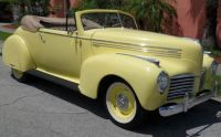 1940 Hudson P40 Deluxe Convertible