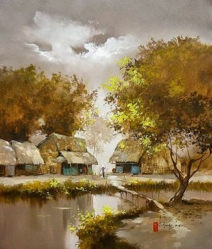 """Ancient Village"""
