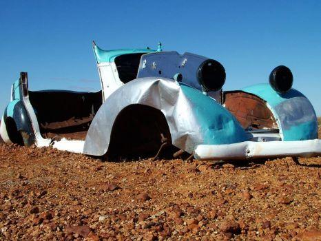 Abandoned car #2