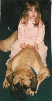 Alana & puppy