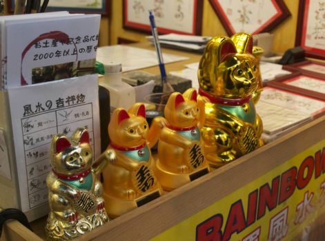 The Ubiquitous Lucky Cat...