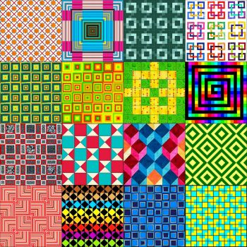16 Squares about Squares