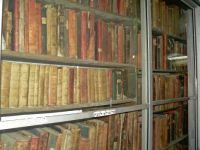 Svat (Safed)  Old Synagogue library includes many very old books
