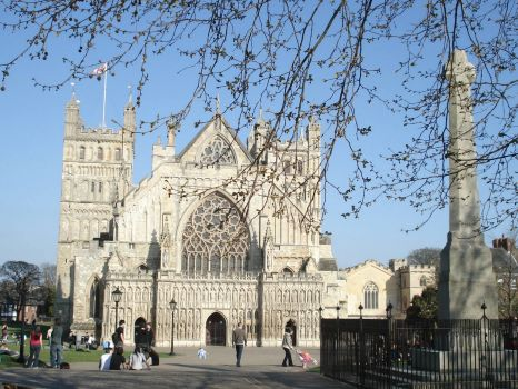 Exeter cathedral (UK)