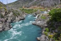 Roaring Meg Falls and Hydro Electricity station