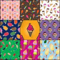 Ice cream patterns 12