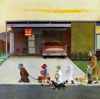 Halloween, 1950s America