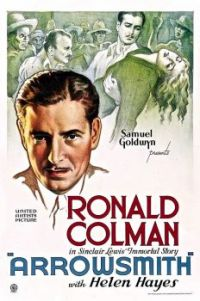 ARROWSMITH - 1935 MOVIE POSTER RONALD COLMAN, HELEN HAYES