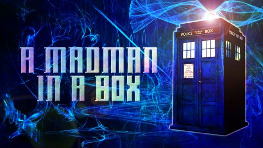 a mad man in a box, doctor who