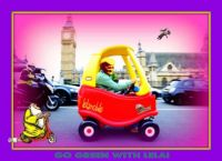 The Lelamobile......