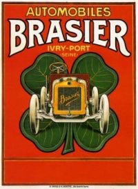 1900s c Automobiles Brasier by S. Houtte