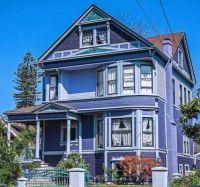 Purple Victorian Home