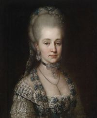 ca. 1770 Portrait of Maria Christina, Duchess of Teschen (1742-1798) Anonymous