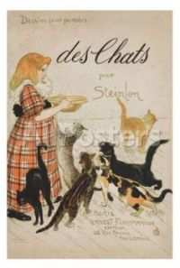 Des Chats by Théophile Alexandre Steinlen