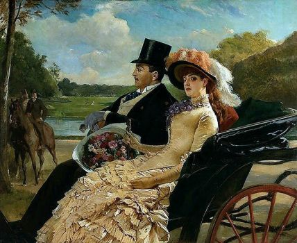 Henri Guillaume Schlesinger - A Ride in the Park