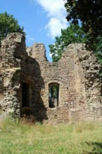 "Ruin Castle ""Osterlant"", near Oschatz/Saxony, Germany"