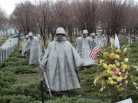 Korean War Memorial, Washington, DC, USA