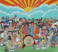 SGT PEPPERS LONELY CARTOON BAND
