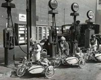 Young Side Car Racers