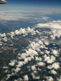 Flying over Europe