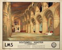 Southwell Minster. LMS 1935