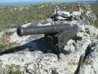 Cannon at Kanonkop. Cape Town