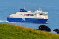 The new Cote D'Opale arriving in Dover