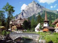 Town of Kandersteg ~ Switzerland