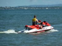 Jetskiing at Woody Point