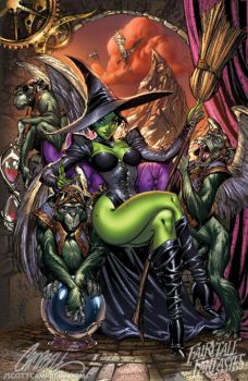 Wicked Witch of the West Pin Up