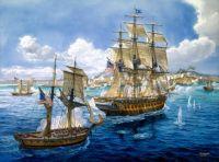 art-battle-sea-painting-ships-navy-guns-military-ship-wallpaper-1