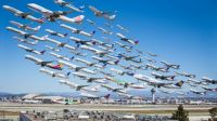 Wake Turbulence LAX Airport
