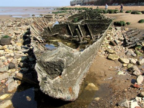 Shipwreck, Hunstanton - 17th April 2010