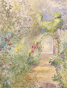 'Fawe Park Garden' by Beatrix Potter