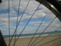 little bicycle ride in Burgas / Black Sea
