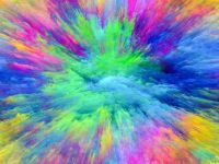 colours exploded