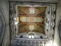 Part of the ceiling in St David's Cathedral, West Wales