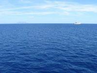Blue seas and blue skies: towards Sardinia