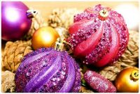 Sparkly Christmas Balls