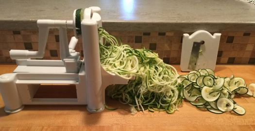 zoodles in the making