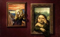 mona-lisa-scream-funny-art