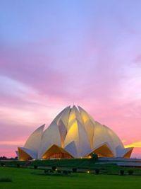 Lotus Temple - New Delhi, India  6040