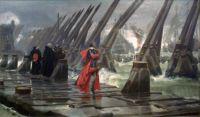 Siege of La Rochelle (1881) - Henri Motte
