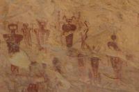 Pictograph at Sego Canyon